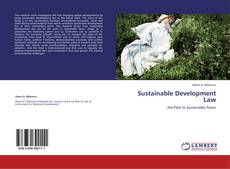 Bookcover of Sustainable Development Law