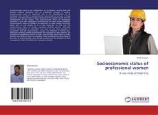Buchcover von Socioeconomic status of professional women