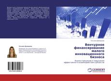 Bookcover of Венчурное финансирование малого инновационного бизнеса