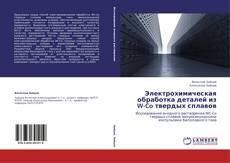 Portada del libro de Электрохимическая обработка деталей из W-Co твердых сплавов