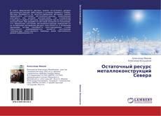 Обложка Остаточный ресурс металлоконструкций Севера