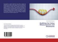 Borítókép a  Auditing Fair Value Measurements and Disclosures - hoz