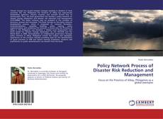 Bookcover of Policy Network Process of Disaster Risk Reduction and Management