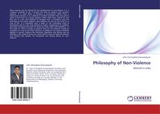 Bookcover of Philosophy of Non-Violence