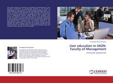 Copertina di User education in UKZN: Faculty of Management