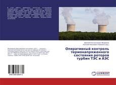 Buchcover von Оперативный контроль термонапряженного состояния роторов турбин ТЭС и АЭС