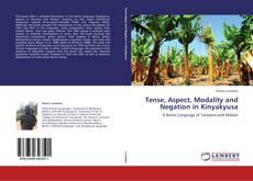 Tense, Aspect, Modality and Negation in Kinyakyusa kitap kapağı
