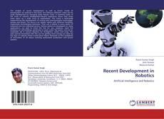 Couverture de Recent Development in Robotics