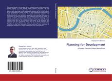 Bookcover of Planning for Development