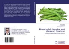 Bookcover of Biocontrol of chocolate spot disease of faba bean