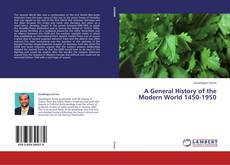Capa do livro de A General History of the Modern World 1450-1950