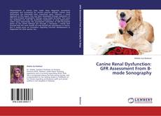 Bookcover of Canine Renal Dysfunction: GFR Assessment From B-mode Sonography