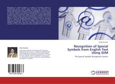 Portada del libro de Recognition of Special Symbols from English Text Using SVM