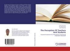 The Perception Of Teachers And Students kitap kapağı