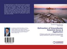Couverture de Delineation of Groundwater Potential Zones & Application