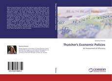 Buchcover von Thatcher's Economic Policies