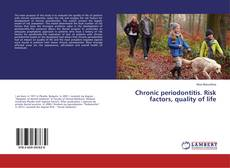Portada del libro de Chronic periodontitis. Risk factors, quality of life