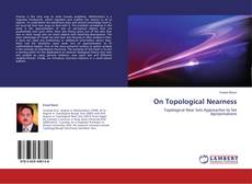 Bookcover of On Topological Nearness