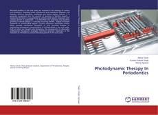 Couverture de Photodynamic Therapy In Periodontics