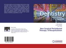 Bookcover of Non Surgical Periodontal Therapy: A Recapitulation