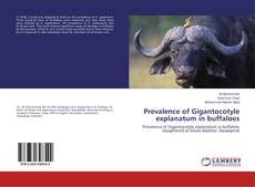 Capa do livro de Prevalence of Gigantocotyle explanatum in buffaloes