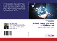 Teaching English Effectively to Blind Learners kitap kapağı