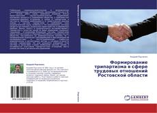 Bookcover of Формирование трипартизма в сфере трудовых отношений Ростовской области