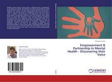 Portada del libro de Empowerment & Partnership in Mental Health - Discovering their Voice