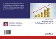 Couverture de Banking Law in India:Regulatory Regime
