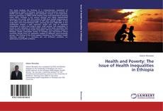 Bookcover of Health and Poverty: The Issue of Health Inequalities in Ethiopia