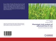 Bookcover of Phenotypic trait analysis of advanced lines in rice