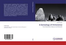 Couverture de A Genealogy of Immanence