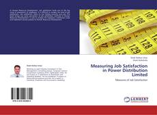 Buchcover von Measuring Job Satisfaction in Power Distribution Limited