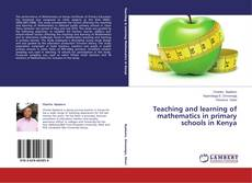 Borítókép a  Teaching and learning of mathematics in primary schools in Kenya - hoz