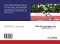 Effect Of Block Spacing On Acceleration Speed kitap kapağı