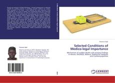 Selected Conditions of Medico-legal Importance的封面