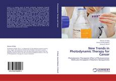 Bookcover of New Trends in Photodynamic Therapy for Cancer