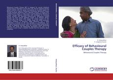 Capa do livro de Efficacy of Behavioural Couples Therapy