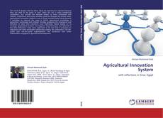 Capa do livro de Agricultural Innovation System