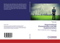 Capa do livro de Organizational Characteristics and KM Implementation