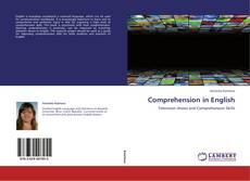 Обложка Comprehension in English