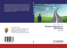 Buchcover von Modern Attitudes in Marketing