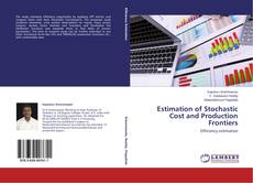 Bookcover of Estimation of Stochastic Cost and Production Frontiers