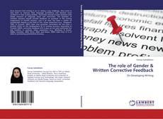 The role of Gender & Written Corrective Feedback kitap kapağı