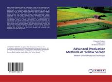 Bookcover of Advanced Production Methods of Yellow Sarson