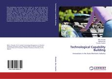 Bookcover of Technological Capability Building