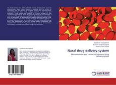 Bookcover of Nasal drug delivery system