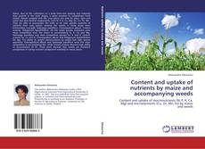 Bookcover of Content and uptake of nutrients by maize and accompanying weeds