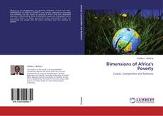 Couverture de Dimensions of Africa's Poverty