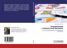 Обложка Управление стоимостью бизнеса